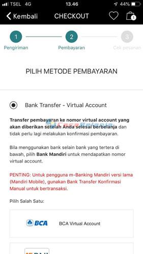 Bank Transfer Konfirmasi Otomatis