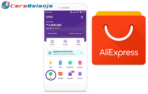 Cara Bayar Aliexpress Dengan OVO