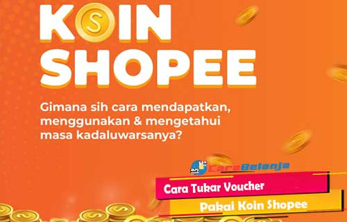 Cara Tukar Voucher Pakai Koin Shopee