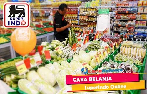 Cara Belanja Superindo Online