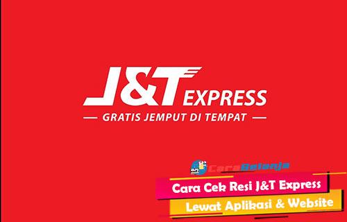 Cara Cek Resi JT Express