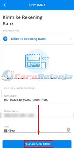 14 Tap Tambah Bank Baru