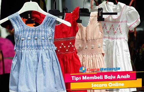 Tips Membeli Baju Anak Secara Online