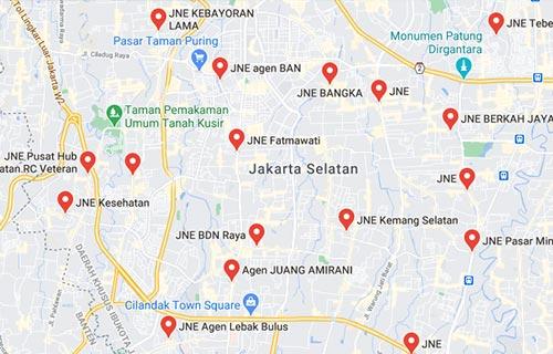 Cari Lokasi Counter Agen JNE Terdekat