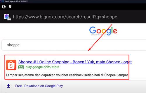 Pilih Shopee