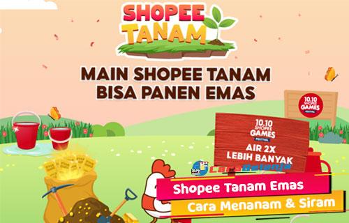 Shopee Tanam Emas