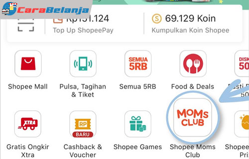 Keuntungan Jadi Member Shopee Moms Club