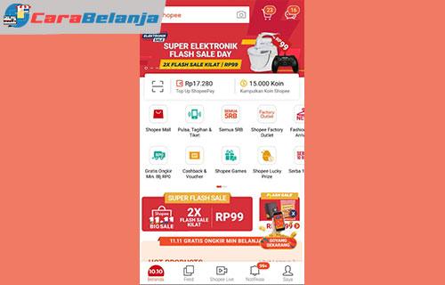 1 Buka Aplikasi Shopee 1