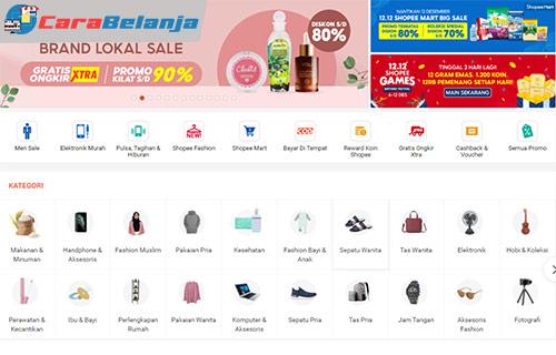1 Buka Situs Resmi Shopee