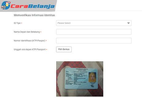 4 Verifikasi ID dan Bank