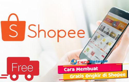 Syarat Cara Membuat Gratis Ongkir Shopee Bagi Penjual