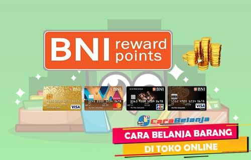 Cara Bayar Tokopedia Pakai BNI Reward Point