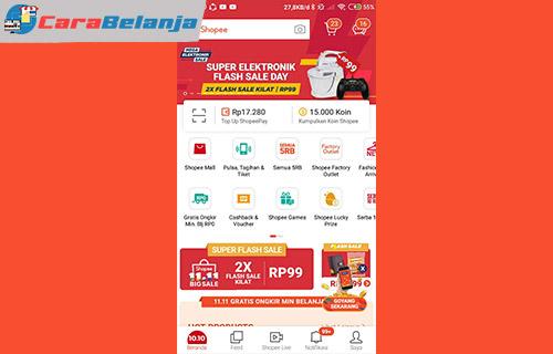 1 Buka Aplikasi Shopee 5