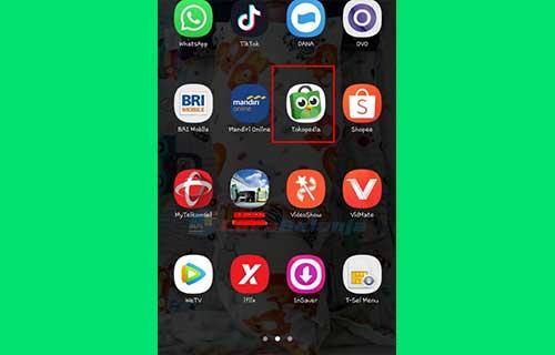 1 Buka Aplikasi Tokopedia 3
