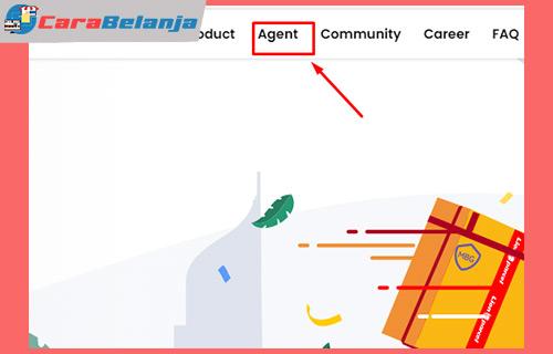 2 Klik Menu Agent