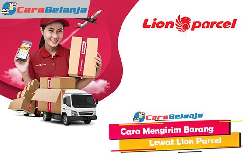 Cara Mengirim Barang Lewat Lion Parcel