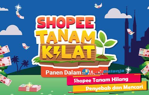 Shopee Tanam Hilang