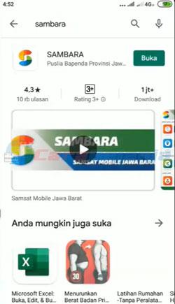 1 Download Aplikasi SAMBARA