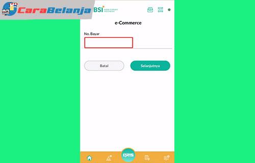 10 Masukan Kode Pembayaran Cara Bayar Tokopedia Pakai BSI Mobile1