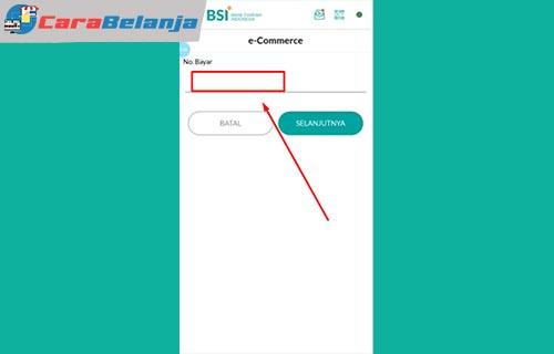 10 Masukan Kode Pembayaran Cara Bayar Shopee Pakai BSI Mobile