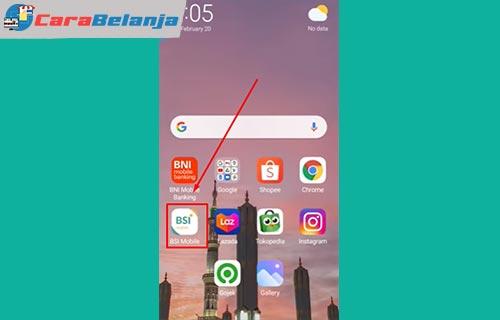 7 Buka Aplikasi BSI Mobile