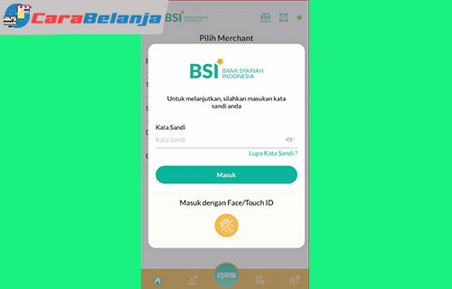 8 Masukan Kata Sandi BSI Mobile