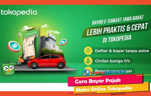 Cara Bayar Pajak Motor Online Tokopedia