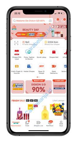1 Buka Aplikasi Shopee 4