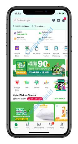 1 Buka Aplikasi Tokopedia 5