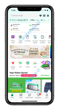 1 Buka Aplikasi Tokopedia 6