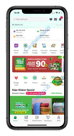 1 Buka Aplikasi Tokopedia 7