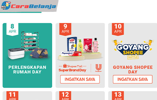 Agenda Shopee Big Ramadhan Sale