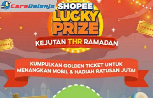 Cara Menggunakan Golden Ticket Shopee 1
