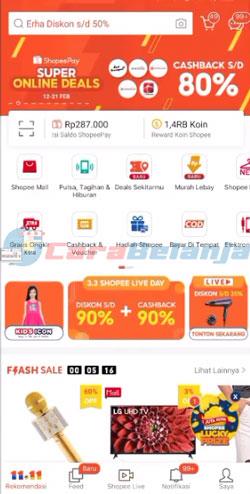 1 Buka Aplikasi Shopee 6