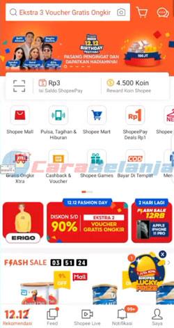 1 Buka Aplikasi Shopee 7