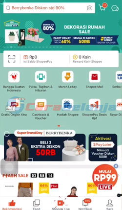 1 Buka Aplikasi Shopee 8