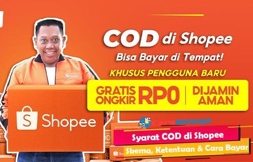 Syarat COD di Shopee