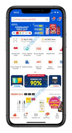 1 Buka Aplikasi Shopee 9