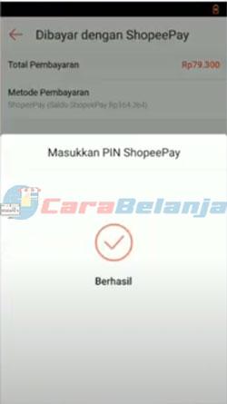 12 Input PIN ShopeePay