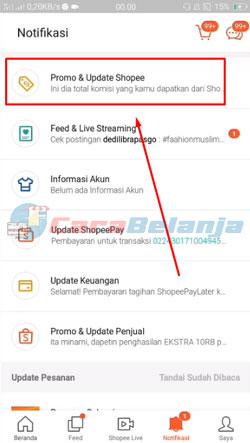 3 Klik Promo Update Shopee