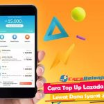 Cara Top Up Lazada Credit Lewat DANA