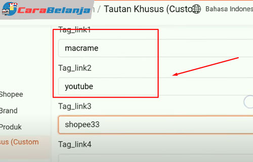 10 Isi Tag Link
