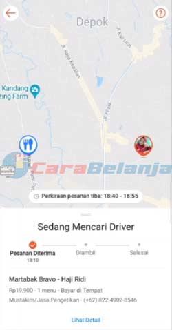 11 Sistem Mencari Driver Terdekat