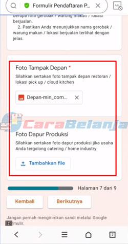 8 Upload Foto Outlet