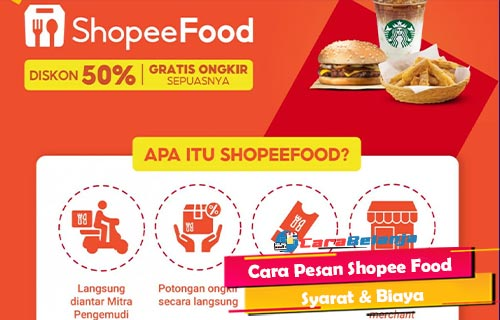 Cara Pesan Shopee Food Syarat Biaya