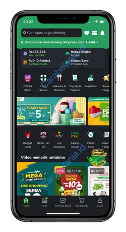 1 Buka Aplikasi Tokopedia 1