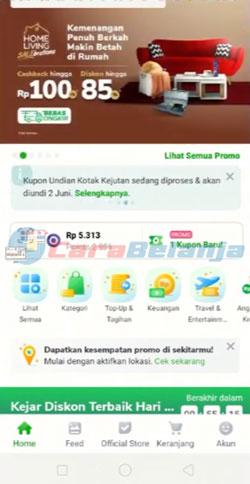 1 Buka Aplikasi Tokopedia