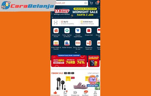 2 Buka Aplikasi Shopee