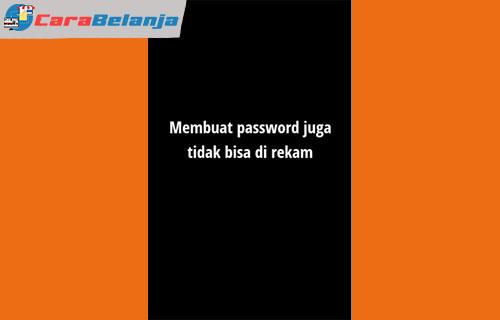 9 Masukkan Kode OTP dan Buat Password