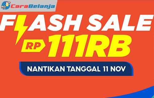 3 Ikut Flash Sale